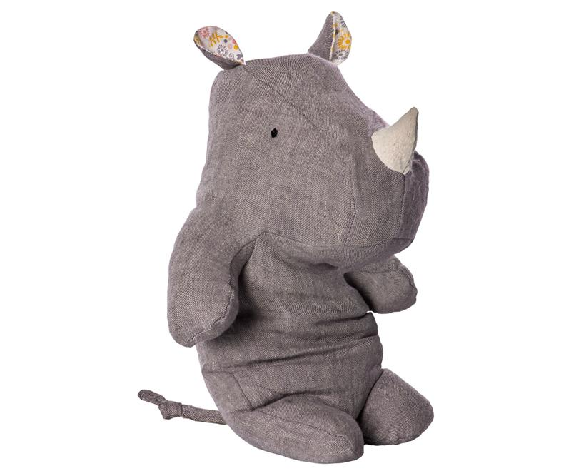 SAFARI FRIENDS RHINO Medium, Grey
