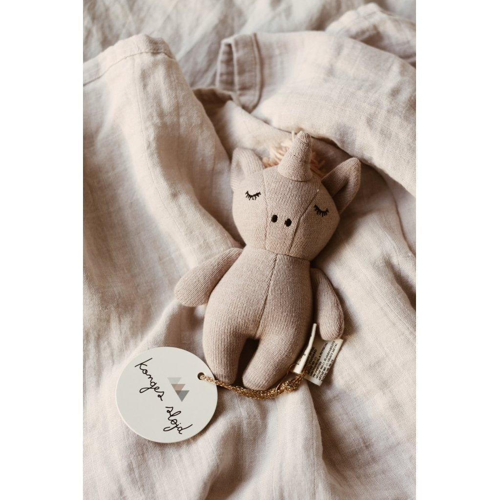 ORGANIC COTTON SOFT TOY UNICORN