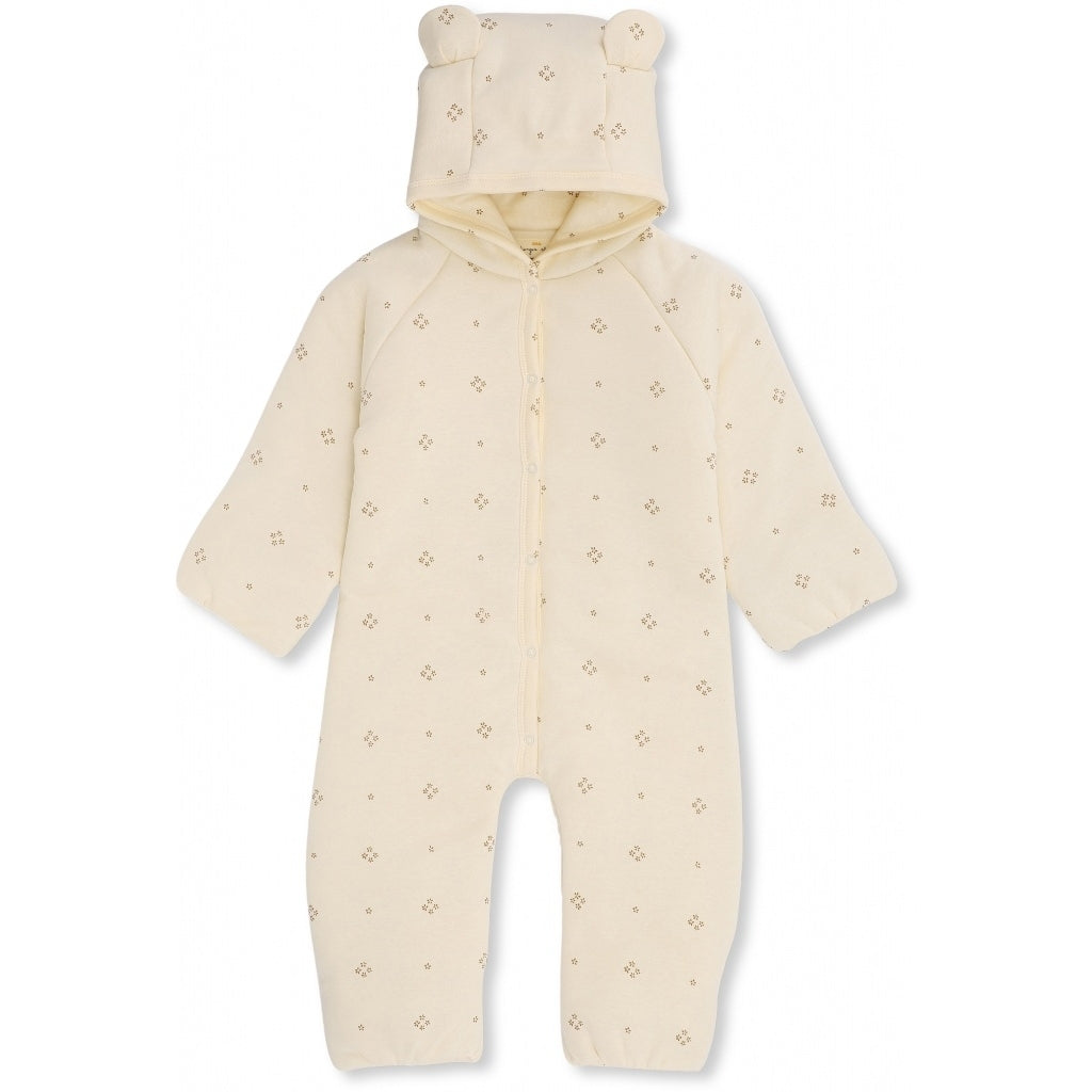 ORGANIC COTTON NEWBORN ONESIE WITH HOOD Camille