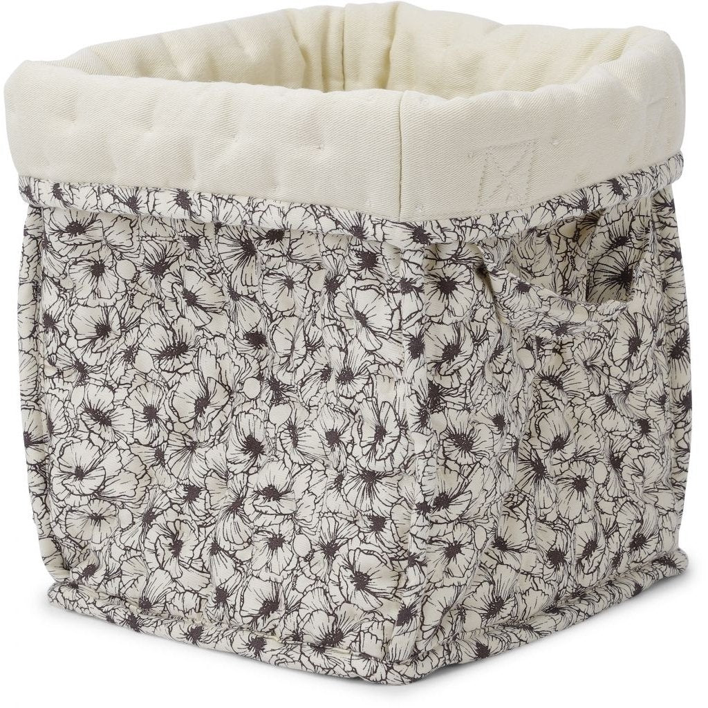 ORGANIC COTTON QUILTED STORAGE BOX