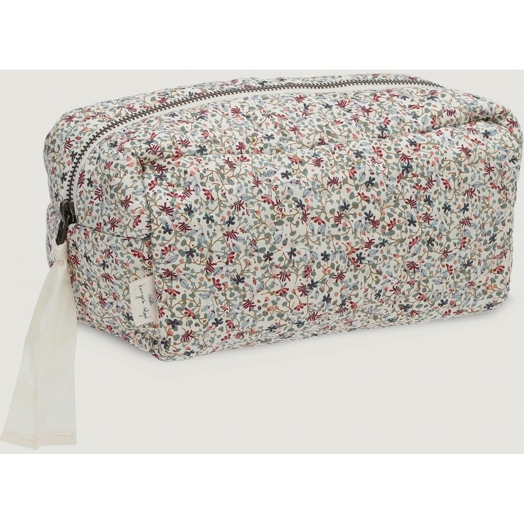 ORGANIC COTTON QUILTED TOILETRY BAG Louloudi