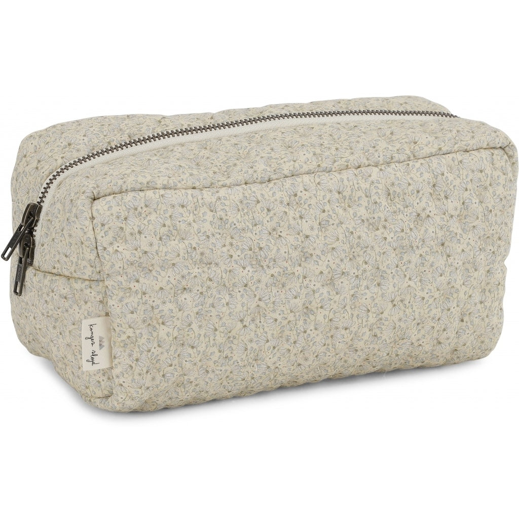 ORGANIC COTTON QUILTED TOILETRY BAG Melodie