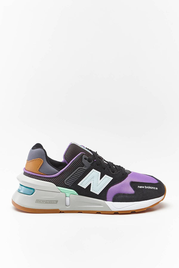 #00012  New Balance взуття, кросівки WS997JGC BLACK WITH NEO VIOLET