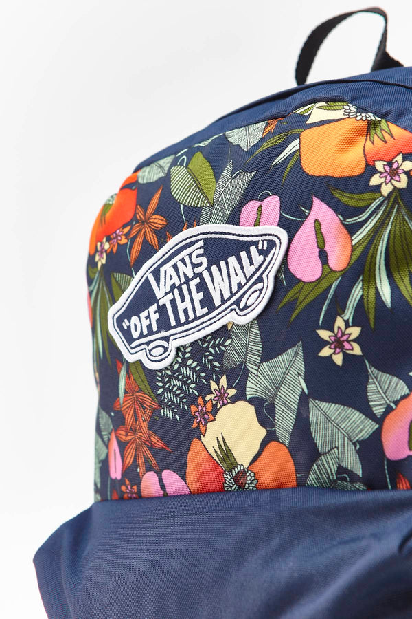 #00058  Vans сумки та рюкзаки, рюкзак REALM BACKPACK W14 MULTI TROPIC DRESS BLUES
