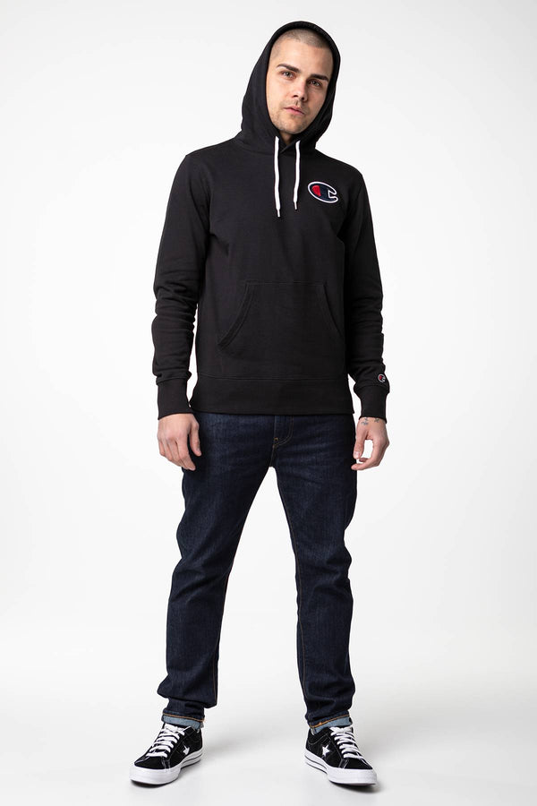 #00044  Champion одяг, блузка HOODED SWEATSHIRT KK001 BLACK