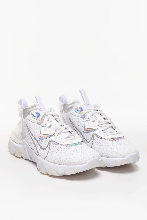 #00006  Nike взуття, кросівки W NSW REACT VISION ESS CW0730-100 White/White/Particle Grey