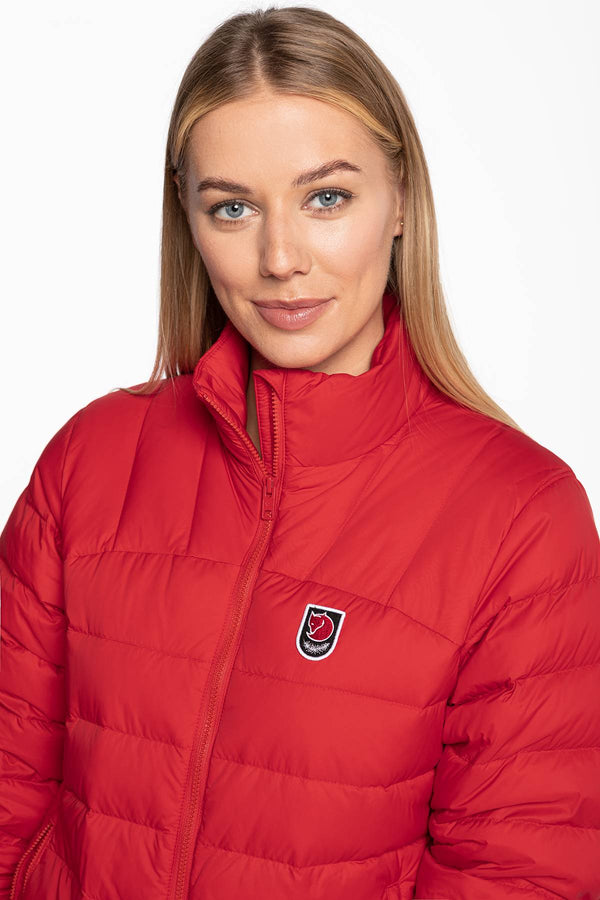 #00019  Fjallraven одяг, куртка Expedition Pack Down Jacket W F86124-334 TRUE RED