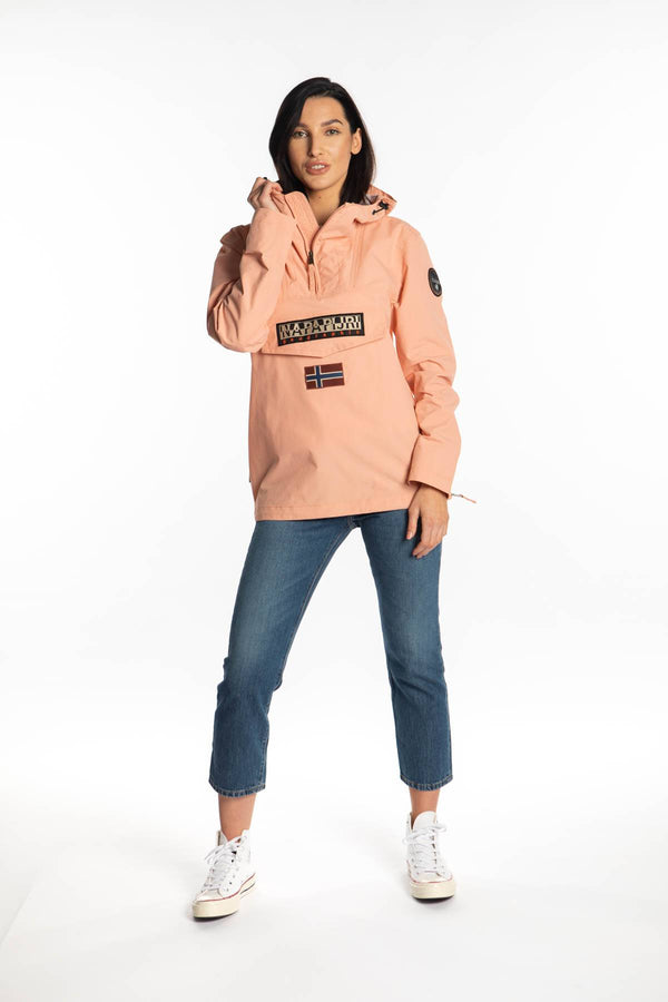 #00013  Napapijri одяг, куртка RAINFOREST SUM T CORAL PINK