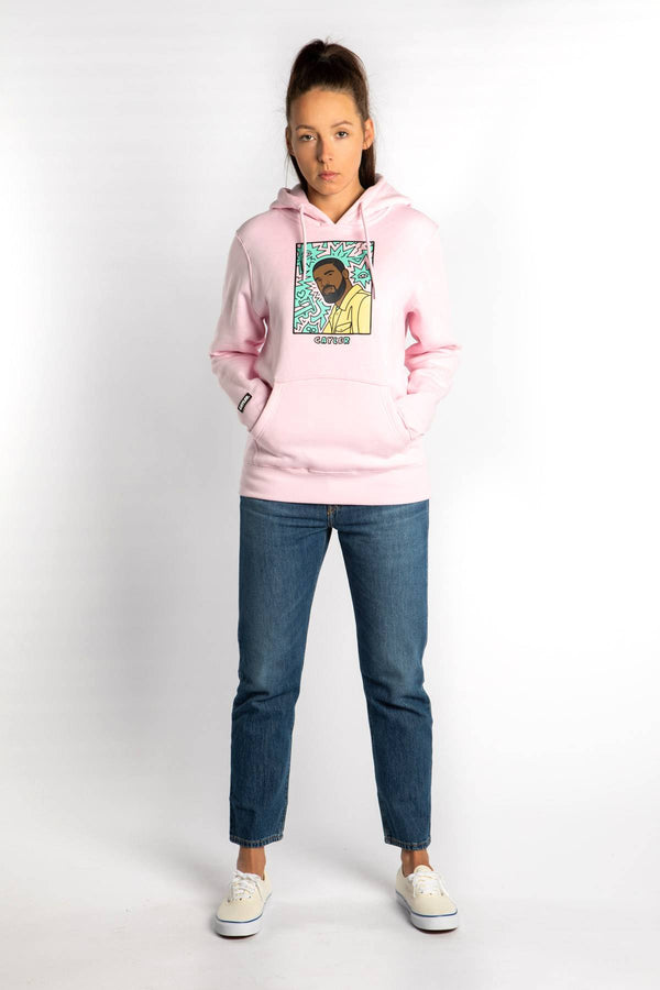 #00001  Cayler & Sons одяг, блузка NORTHERN LINES HOODY 01891 PINK/MC