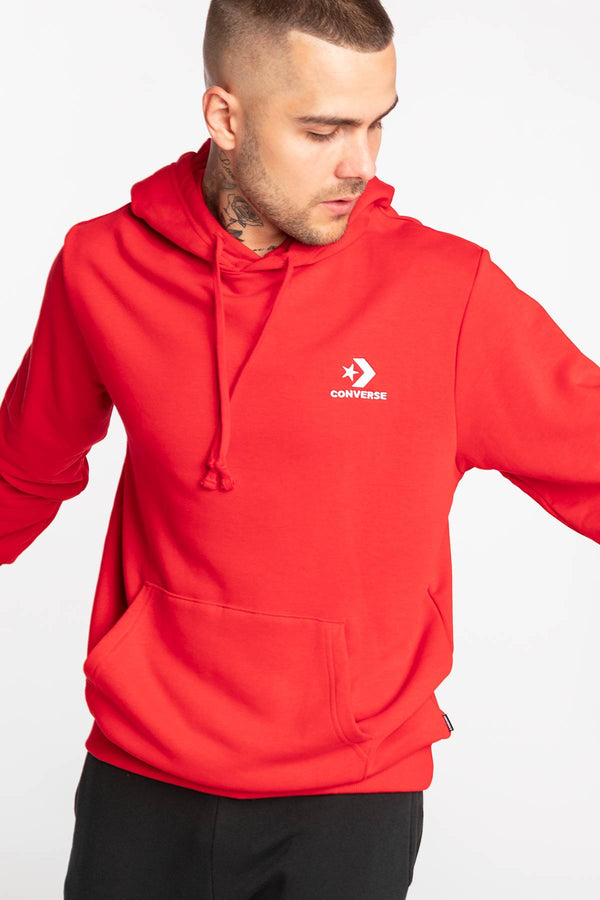 #00172  Converse одяг, блузка STAR CHEVRON HOODIE RED 10008926-A11 RED