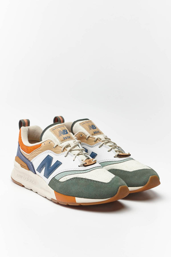 #00008  New Balance взуття, кросівки CM997HAN SPRING HIKE SLATE GREEN WITH STONE BLUE/LINEN FOG