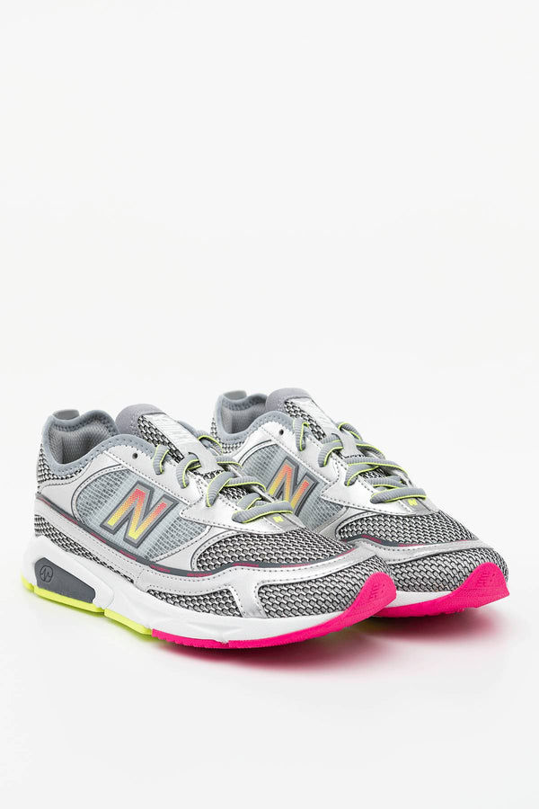 #00007  New Balance взуття, кросівки WSXRCHKA SILVER METALLIC WITH LEMON SLUSH