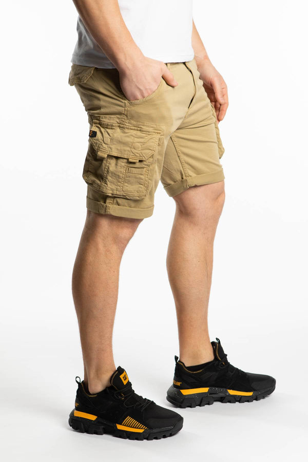 #00065  Alpha Industries одяг, шорти CREW SHORT 14 SAND