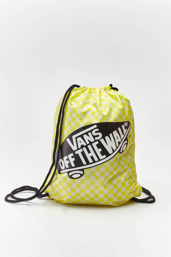 #00077  Vans сумки та рюкзаки, рюкзак BENCHED BAG VD7 LEMON TONIC CHECKERBOARD