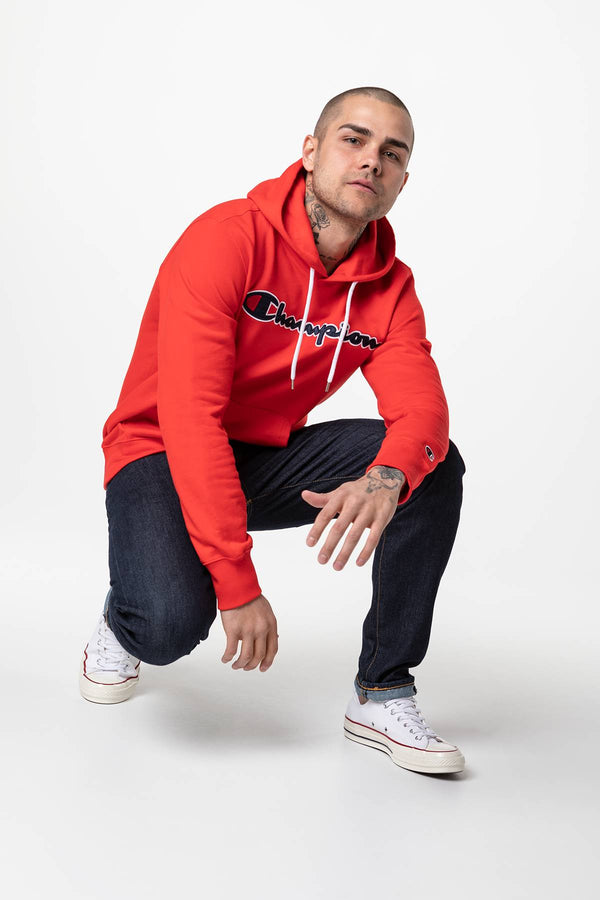 #00049  Champion одяг, блузка HOODED SWEATSHIRT RS041 RED
