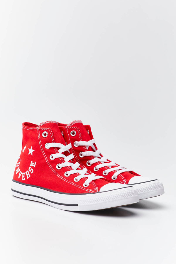 #00053  Converse взуття, кеди CHUCK TAYLOR ALL STAR SMILE 069 UNIVERSITY RED