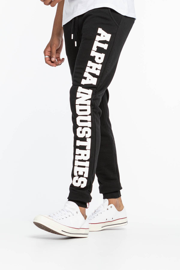 #00015  Alpha Industries одяг, штани Big Letters Jogger 343 BLACK