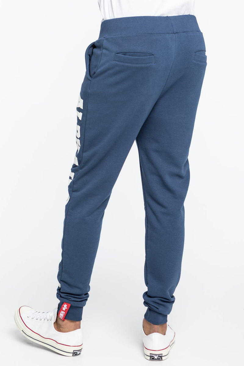 #00025  Alpha Industries одяг, штани Big Letters Jogger 343 NAVY