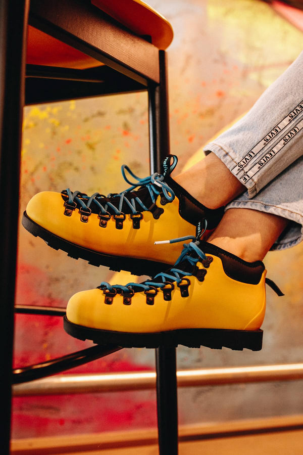 #00009  Native взуття, взуття outdoor FITZSIMMONS CITYLITE 7546 ALPINE YELLOW/JIFFY BLACK