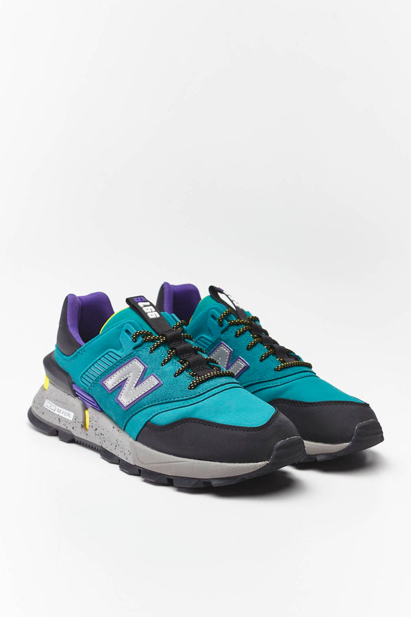 #00017  New Balance взуття, кросівки MS997SKA TEAM TEAL WITH BLACK/YELLOW