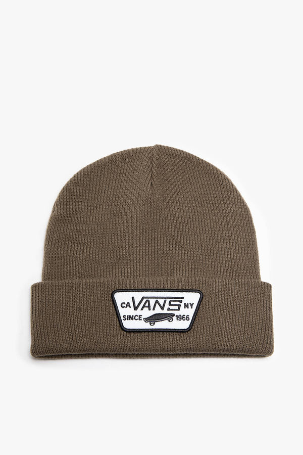 #00035  Vans аксесуари , кепка MN MILFORD BEANIE VN000UOU1LE1 CANTEEN