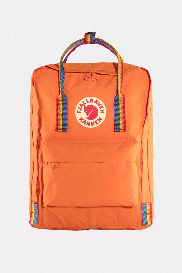 #00002  Fjallraven сумки та рюкзаки, рюкзак KANKEN RAINBOW 212-907 BURNT ORANGE/RAINBOW PATTERN