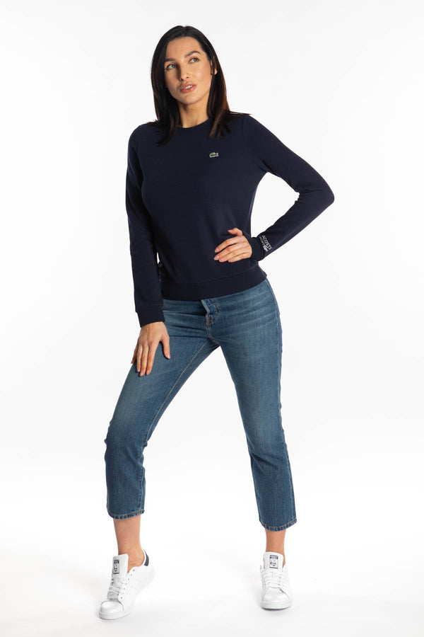 #00028  Lacoste одяг, блузка SPORT SWEATSHIRT 166 NAVY BLUE