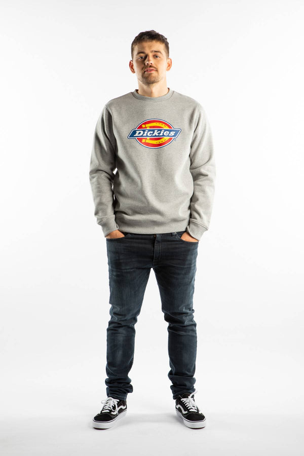 #00017  Dickies одяг, блузка PITTSBURGH GYM GRAY MELANGE