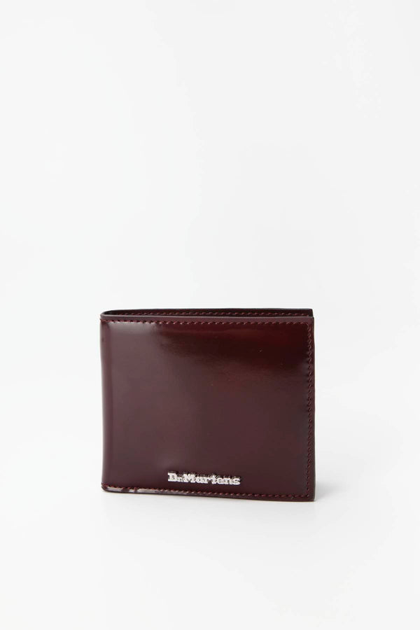 #00039  Dr.Martens аксесуари , гаманець VEGAN WALLET 601 CHERRY RED OXFORD RUB OFF