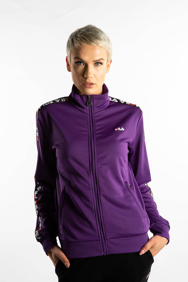 #00052  Fila одяг, куртка TALLI TRACK JACKET A033 TILLANDSIA PURPLE