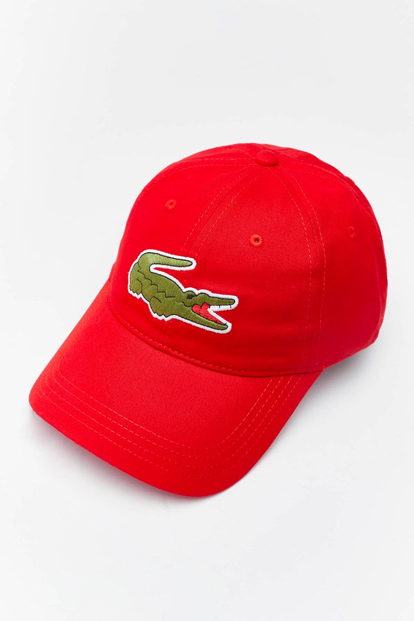 #00056  Lacoste аксесуари , кепка CAP 240 RED