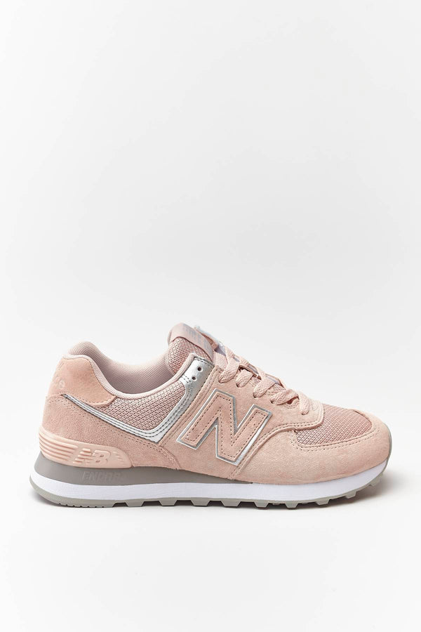 #00032  New Balance взуття, кросівки WL574EQ SMOKED SALT WITH SILVER