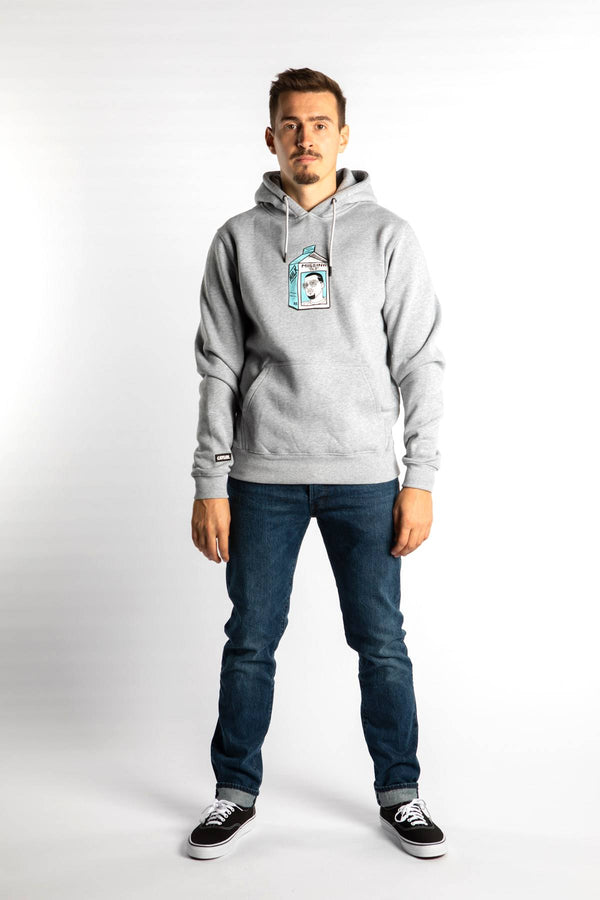 #00005  Cayler & Sons одяг, блузка MISSING HOODY 01975 HEATHER GREY/MC