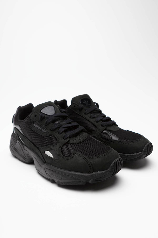 #00116  adidas взуття, кросівки FALCON W 880 CORE BLACK/CORE BLACK/GREY FIVE