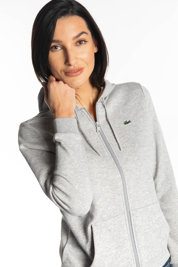 #00026  Lacoste одяг, блузка WOMEN SWEATSHIRT P5V GREY