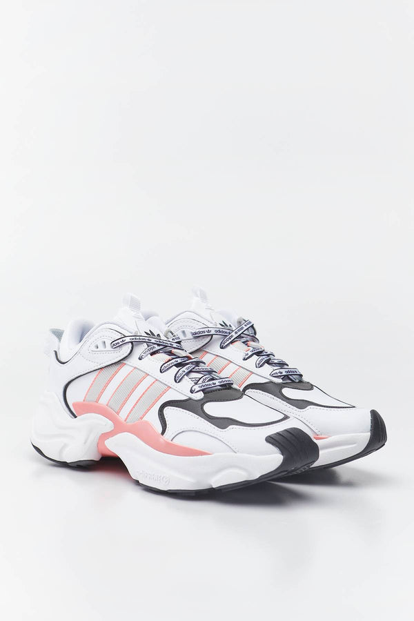 #00089  adidas взуття, кросівки MAGMUR RUNNER 435 CLOUD WHITE/GREY ONE/GLORY PINK