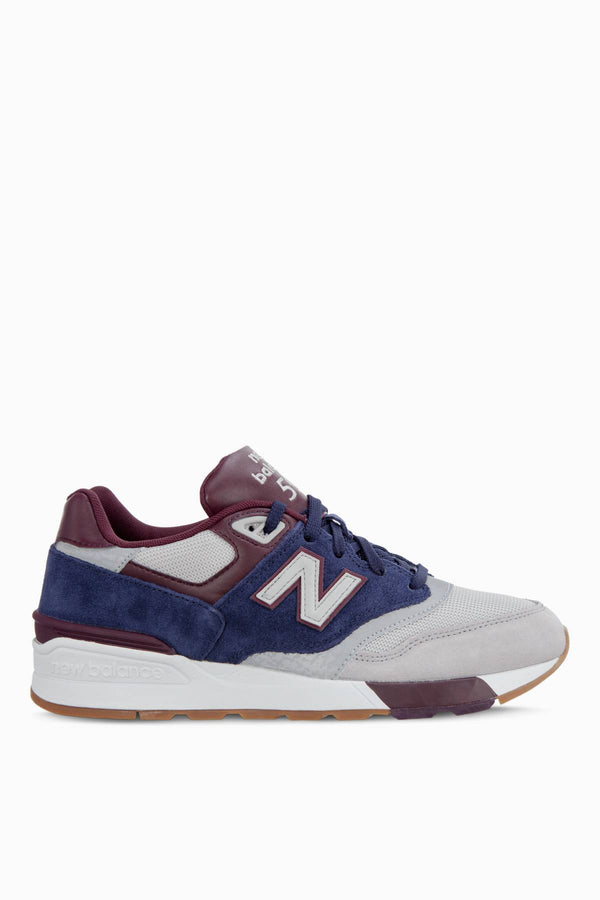 #01507  New Balance взуття, кросівки ML597GNB RAIN CLOUD/PIGMENT/BURGUNDY