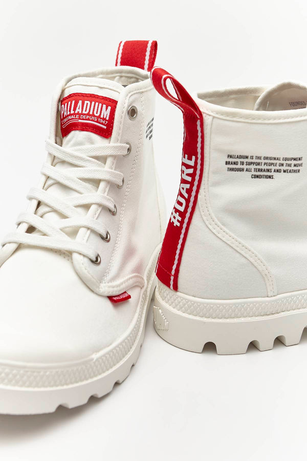 #00014  Palladium взуття, чоботи PAMPA HI DARE 116 STAR WHITE