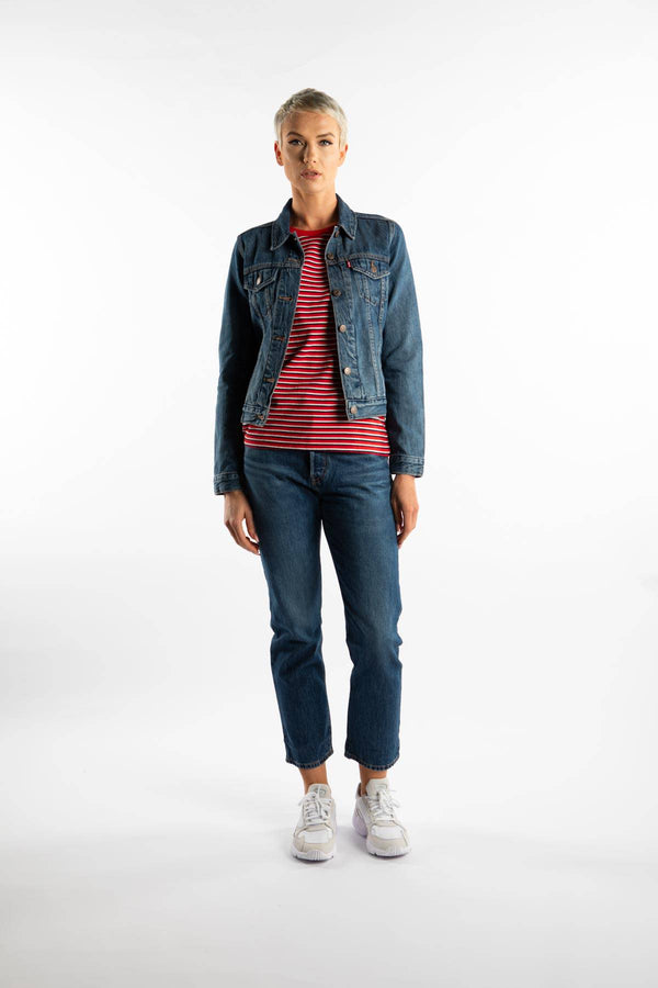#00041  Levi's одяг, куртка ORIGINAL TRUCKER JACKET 0063 BLUE