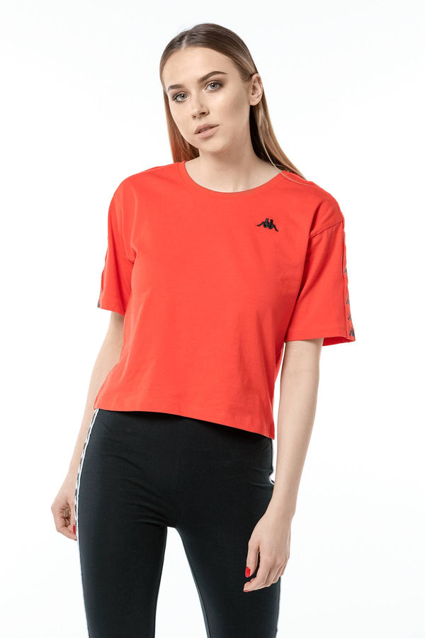 #00010  Kappa футболка GLANDA 1664 POPPY RED