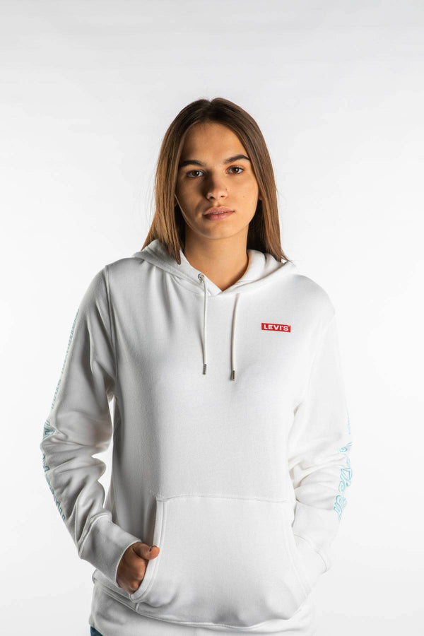 #00043  Levi's одяг, блузка STAR WARS GRAPHIC PO HOODIE 0097 WHITE