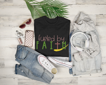 "Load image into Gallery viewer, ""Fueled By Faith"" Tee"