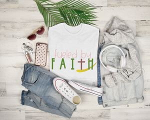 """Fueled By Faith"" Tee"