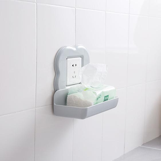 Wall Outlet Phone Charging Shelf