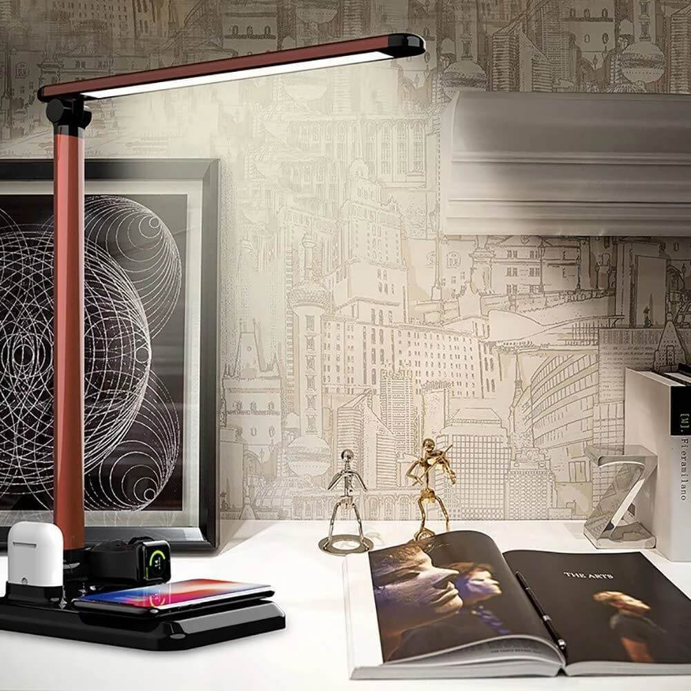 4 In 1 Wireless Charger Table Lamp For Apple Mate X1