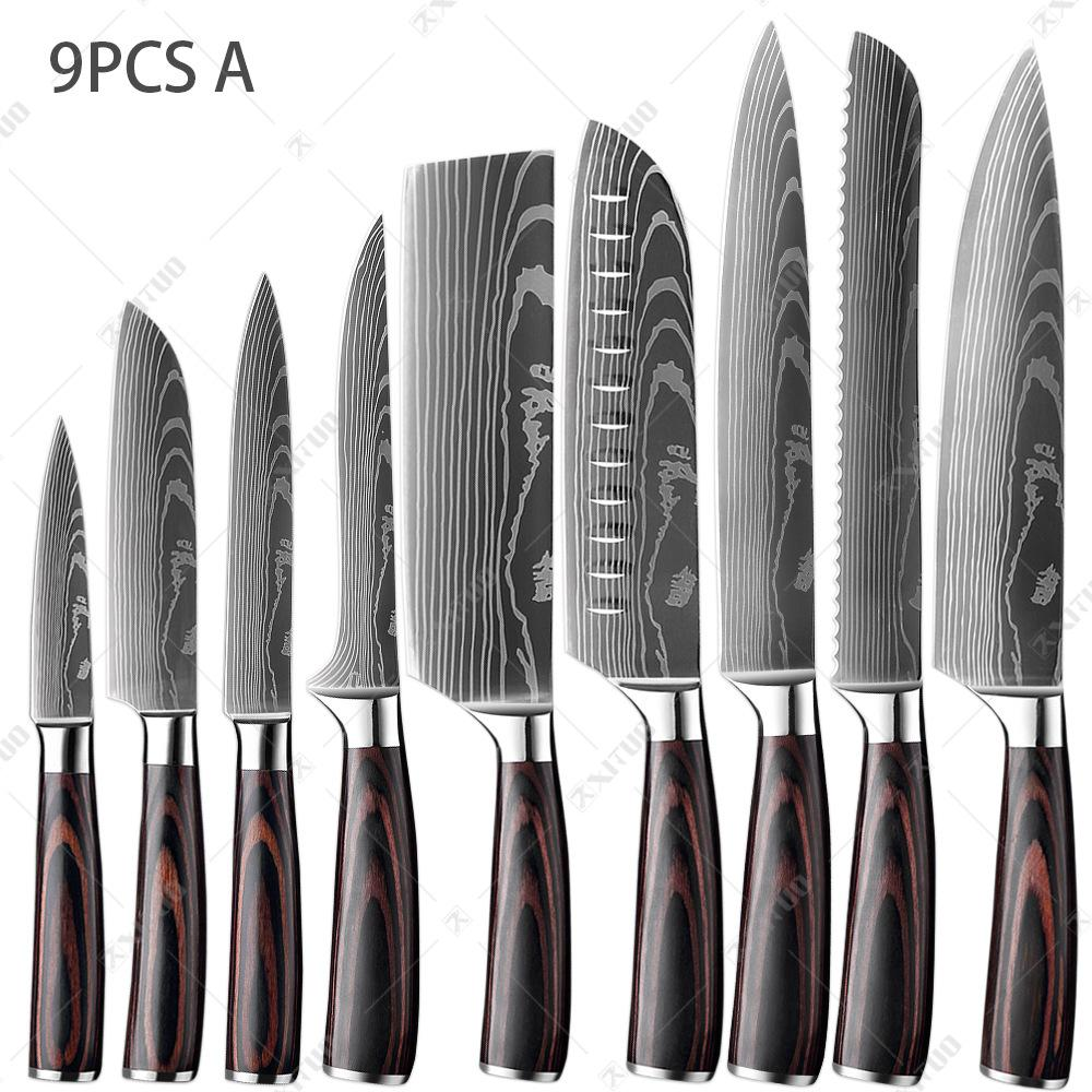 Kitchen Knives Tool Set