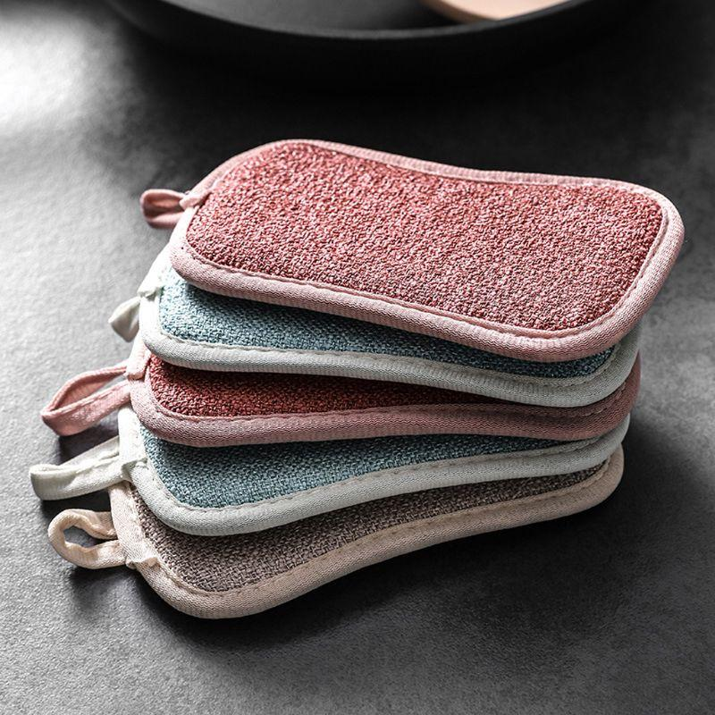 4PCS Double Sided Reusable Cleaning Sponges