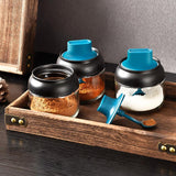 Moisture-Proof Seasoning Bottle Glass Jar (280ML)