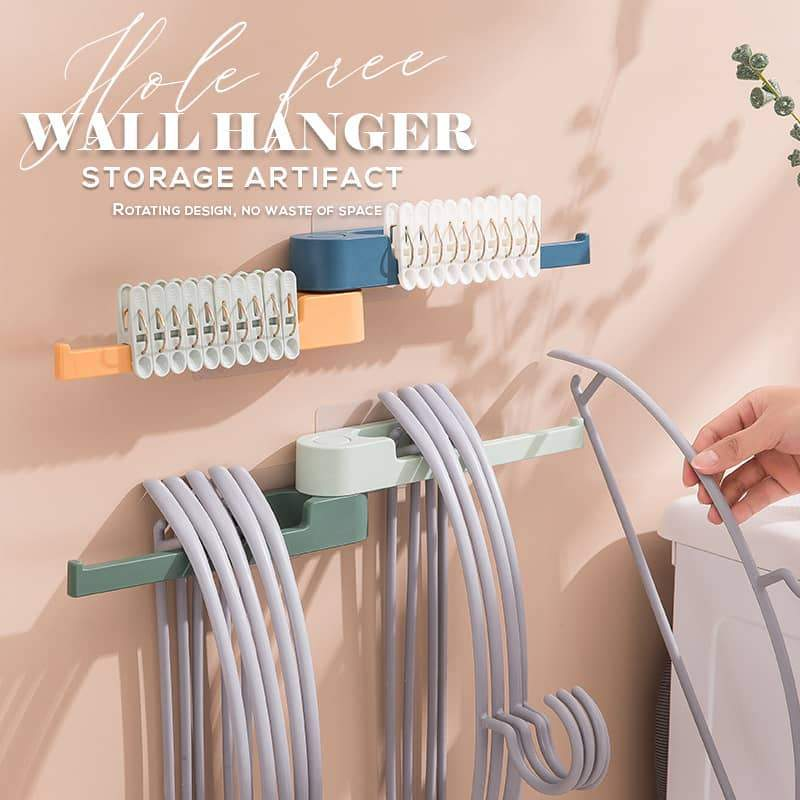 Hole Free Wall Hanger Storage Artifact