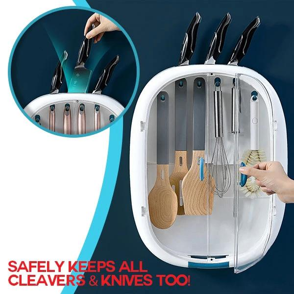 Kitchen Utensils Wall Organizer